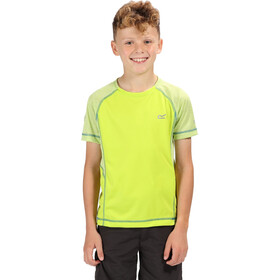 Regatta Dazzler II T-Shirt Kids Lime Punch/Lime Punch